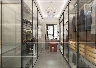140平米三室两厅混搭风格衣帽间装修图片大全