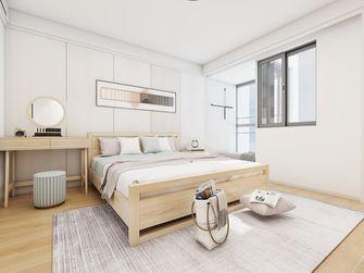 3万以下110平米三室一厅北欧风格卧室装修效果图