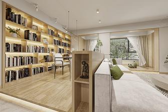 120平米三室两厅北欧风格书房设计图