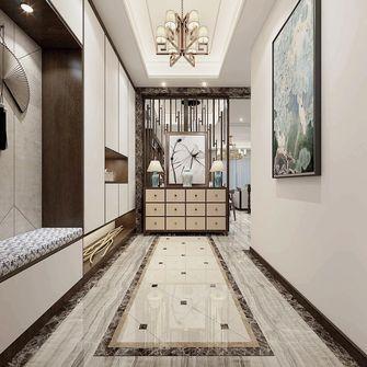 140平米四室三厅中式风格玄关图片大全