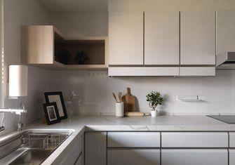 豪华型140平米三室一厅美式风格厨房设计图