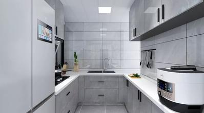 80平米港式风格厨房图