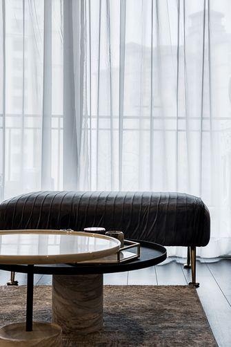 富裕型60平米复式混搭风格客厅设计图