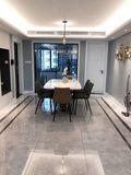 富裕型120平米三现代简约风格餐厅装修图片大全