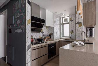 富裕型120平米三室两厅混搭风格厨房图片