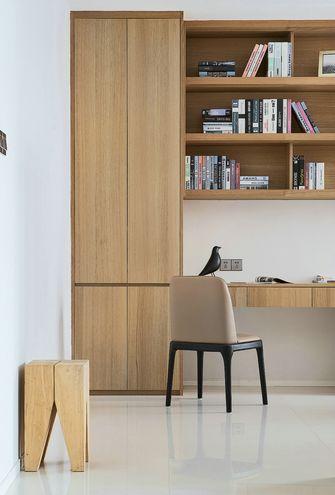 豪华型140平米三室两厅欧式风格书房图片大全
