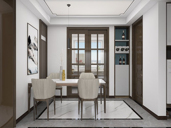 富裕型120平米四室一厅中式风格餐厅效果图