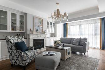 富裕型130平米四室两厅北欧风格客厅设计图