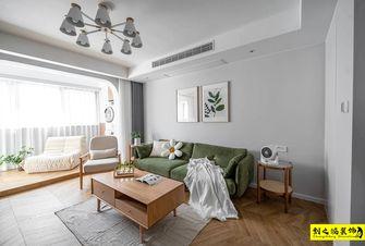 10-15万110平米三室一厅日式风格客厅装修效果图
