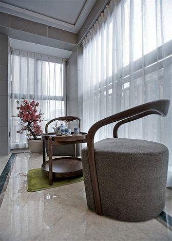 豪华型80平米三室一厅中式风格阳台设计图