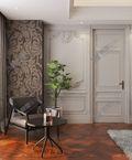 140平米三法式风格卧室装修案例