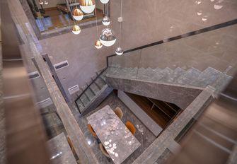富裕型140平米复式轻奢风格楼梯间图