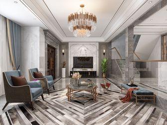 富裕型120平米三室两厅英伦风格客厅效果图