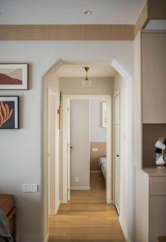 富裕型90平米三室两厅日式风格走廊装修图片大全