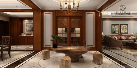 富裕型80平米美式风格玄关欣赏图