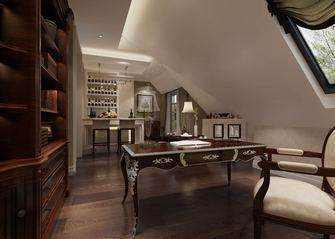 140平米别墅法式风格书房装修效果图