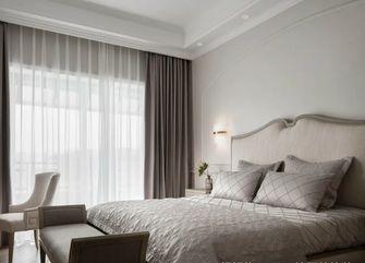 富裕型100平米三室一厅轻奢风格卧室图片