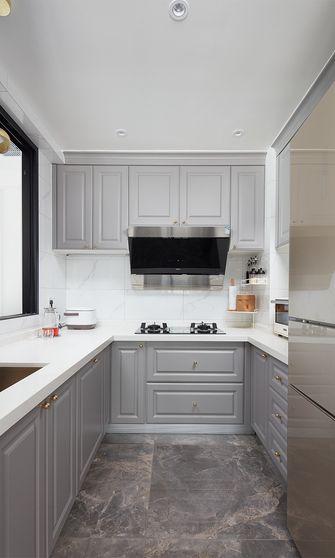 富裕型90平米三室两厅美式风格厨房装修案例