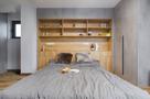 豪华型70平米工业风风格卧室设计图