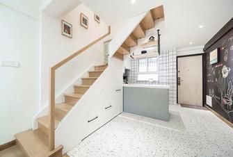 15-20万80平米三室一厅北欧风格楼梯间图