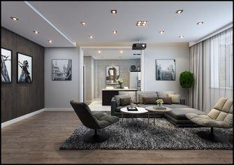 富裕型120平米三室三厅英伦风格客厅设计图