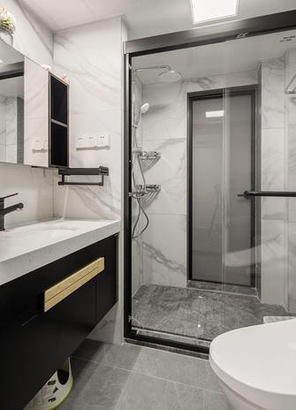 60平米现代简约风格卫生间设计图