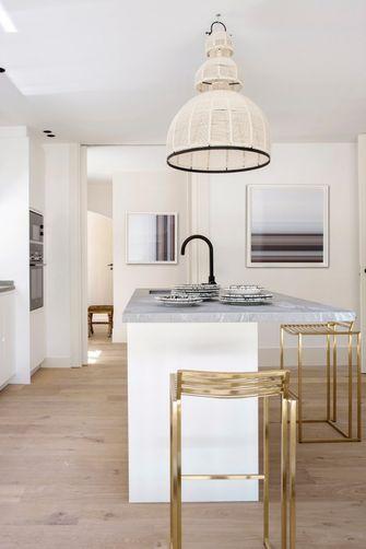 140平米田园风格厨房图片