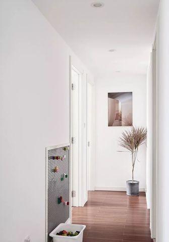 10-15万100平米三室一厅北欧风格走廊图片大全
