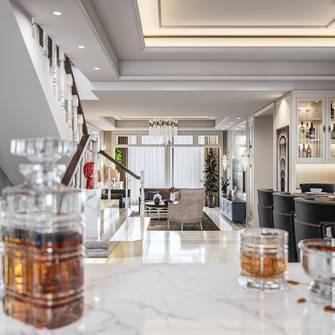 20万以上140平米四室三厅美式风格餐厅图片大全