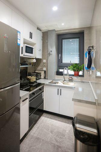 10-15万80平米一室两厅现代简约风格厨房装修图片大全
