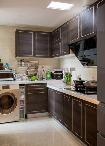 10-15万70平米一室一厅轻奢风格厨房设计图