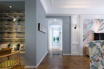 5-10万100平米三室两厅美式风格走廊效果图