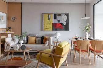 20万以上40平米小户型北欧风格客厅装修案例