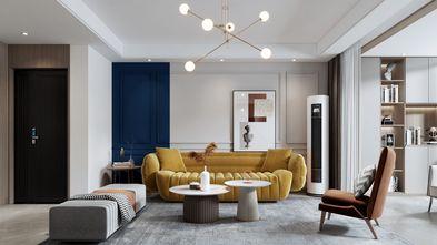 20万以上140平米三室四厅北欧风格客厅图片