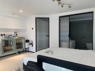5-10万90平米复式现代简约风格卧室设计图