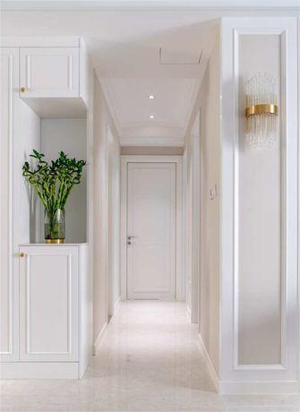 富裕型110平米三室两厅现代简约风格走廊图