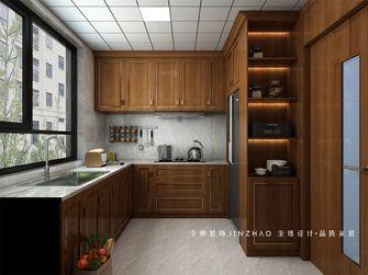 10-15万130平米四室两厅中式风格厨房图