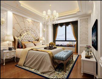 豪华型140平米三室一厅欧式风格卧室图片大全