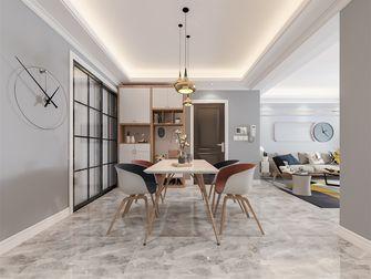 豪华型130平米四室两厅北欧风格餐厅图片大全