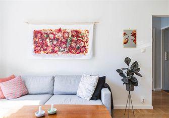 富裕型70平米一室一厅北欧风格客厅图