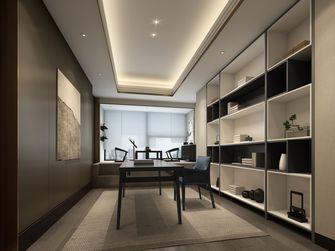 10-15万100平米三室两厅中式风格书房图
