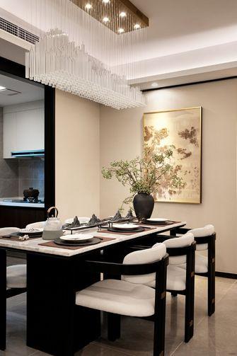 富裕型新古典风格餐厅图