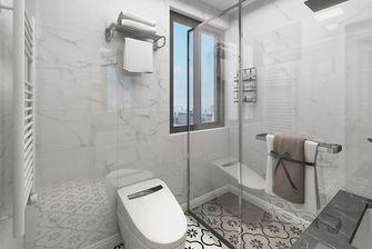 80平米三室一厅现代简约风格卫生间图片大全