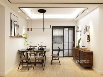 富裕型四日式风格餐厅设计图