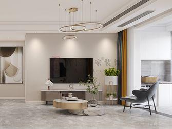 80平米轻奢风格客厅欣赏图