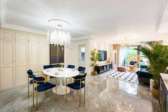 20万以上140平米三室一厅新古典风格客厅设计图