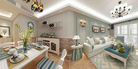 豪华型140平米四地中海风格客厅装修效果图