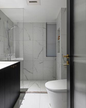经济型130平米三室两厅美式风格卫生间图