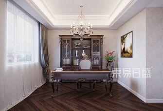 豪华型140平米三室两厅美式风格书房设计图