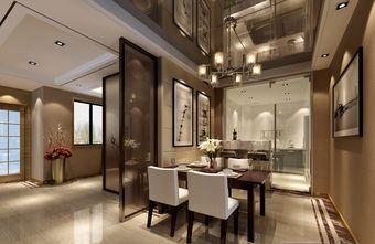 10-15万140平米三室两厅现代简约风格餐厅图片
